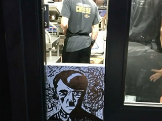 Hitler sketch taped to Colo. Taco Bell window