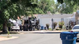 Suspect surrenders after 9-hour standoff