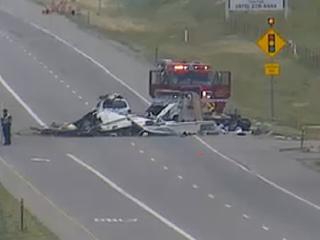 Loveland crash sends 8 to the hospital