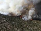 Peekaboo Fire burns in northwest Colorado