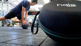 Boulder triathlete trains with Halo Sport