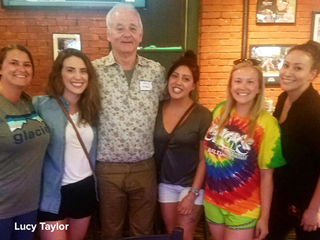 Bill Murray being Bill Murray at Denver bar