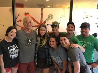 Actor Bill Murray spotted once again in Denver
