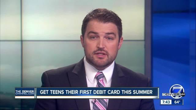 Get Teens Their First Debit Card