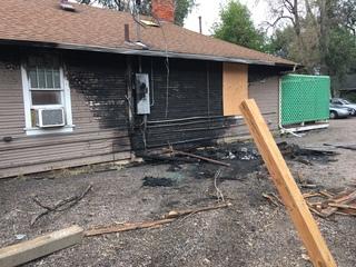 Car crash fire knocks out Wheat Ridge hair salon