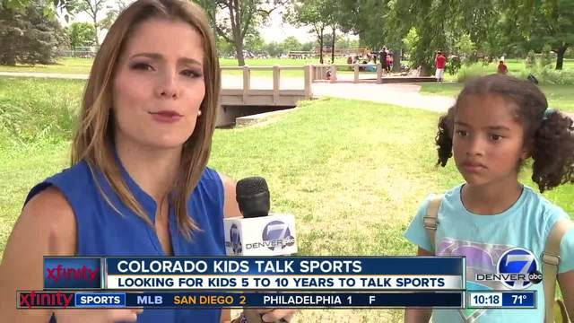 Colorado Kids Talk Sports- Broncos Edition