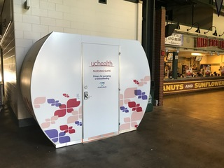Coors Field, Mile High add nursing stations