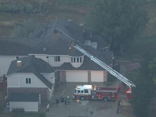 Lightning starts attic fire in Broomfield