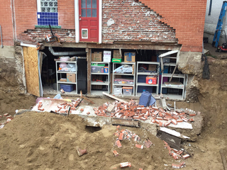 2 rescued from Denver home after wall collapses