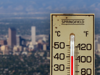 Global climate change: How hot will Denver get?