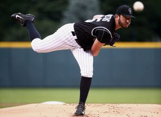 Chad Bettis makes great comeback at Coors Field