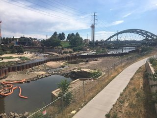 Confluence Park project nears completion