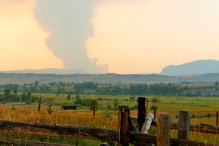 New wildfire near Steamboat grows quickly