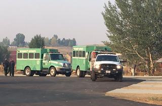 Extra crews helping fight Deep Creek Fire