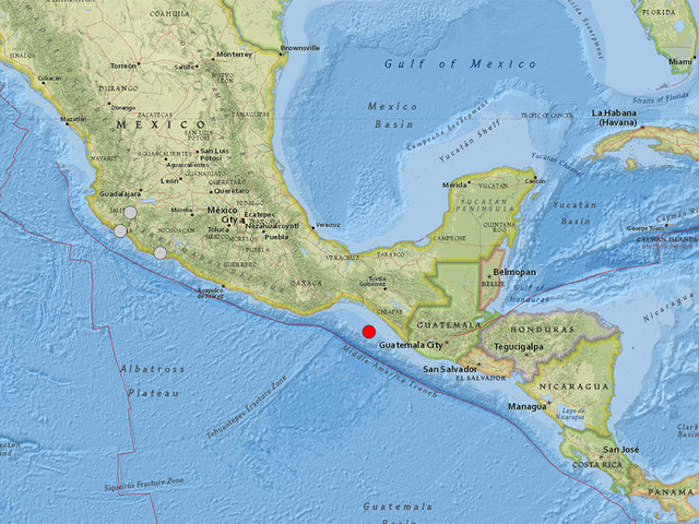 80 magnitude earthquake hits southern mexico felt in capital denver7 thedenverchannelcom