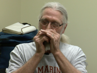 7Everyday Hero teaches harmonica at hospital