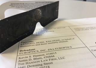 Couple sues Europtics over eclipse glasses