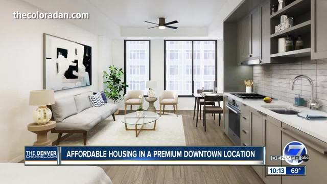 New High Rise In Union Station Neighborhood Includes Penthouses And  Affordable Housing Units