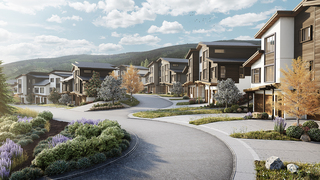 Affordable housing under construction in Vail