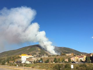 Wildfire sparks outside Dillon, 21 acres in size