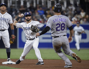 Richard, Padres hand Rockies 4th straight loss