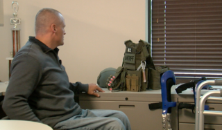 Fundraiser to buy paralyzed detective wheelchair