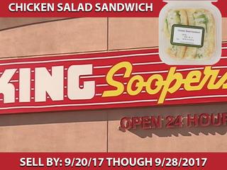 King Soopers recalls chicken salad sandwiches