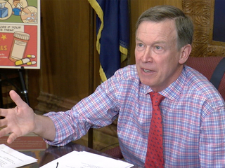 Gov. Hickenlooper addresses Hancock allegation