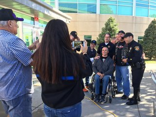 Paralyzed DougCO detective given wheelchair