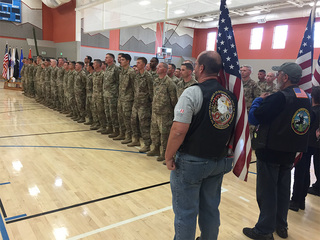 Colorado soldiers return home from Middle East