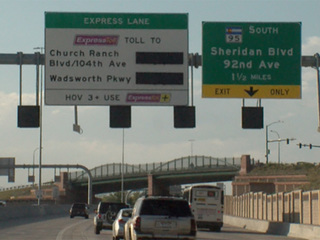 Contract finalized for I-25 express project