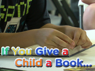 Kids focus on literacy in after school program