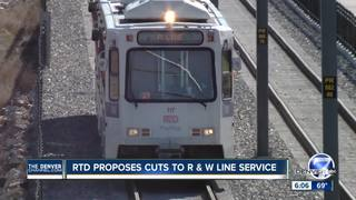 RTD fine tunes proposed light rail service cuts