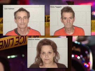 3 arrested in Elbert Co. sex assault, meth case