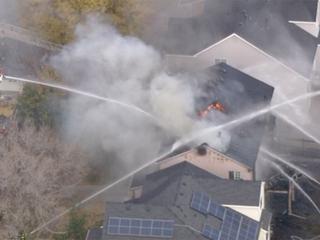 Denver Fire: No injuries in SW Denver home blaze
