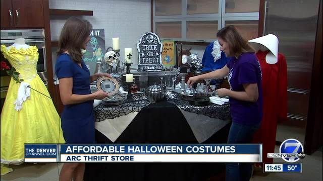 thrifty mom head to arc for last minute halloween shopping denver7 thedenverchannelcom