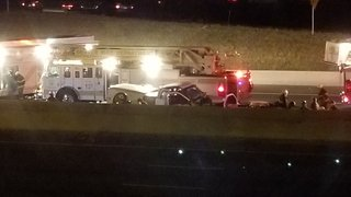 I-25 reopens following deadly rollover