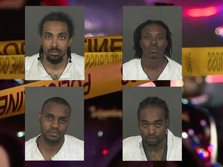 4 charged with robbing Denver dispensary