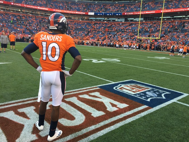 Broncos 'Looking Into' Emmanuel Sanders Report