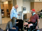 7Everyday Hero leads dog therapy program