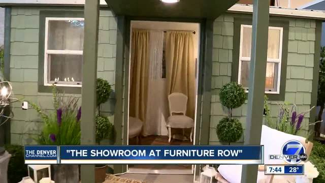 design center at the showroom at furniture row can help with ideas