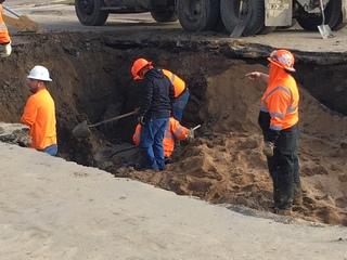 Water main break closes Greeley school