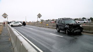 Several crashes amid icy road conditions