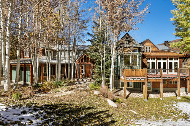 Colorado Dream Homes Rustic Snowmass Village Cabin Listed