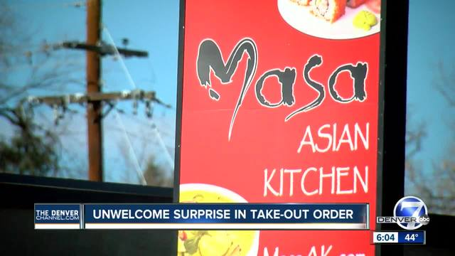 Denver woman says her latest takeout order was littered with rodent droppings