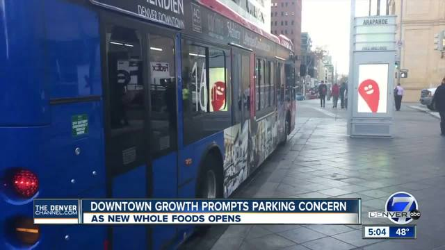Downtown growth in Denver raises questions about parking