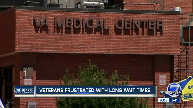 Veterans frustrated with long wait times
