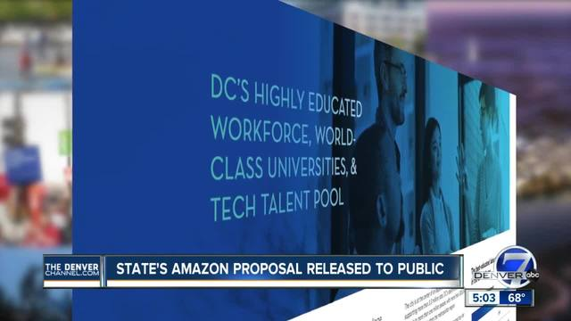 Denver releases redacted Amazon HQ2 bid with scant details on locations