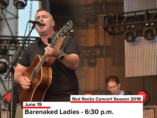 Barenaked Ladies Concert Setlist at Pepsi Center, Denver