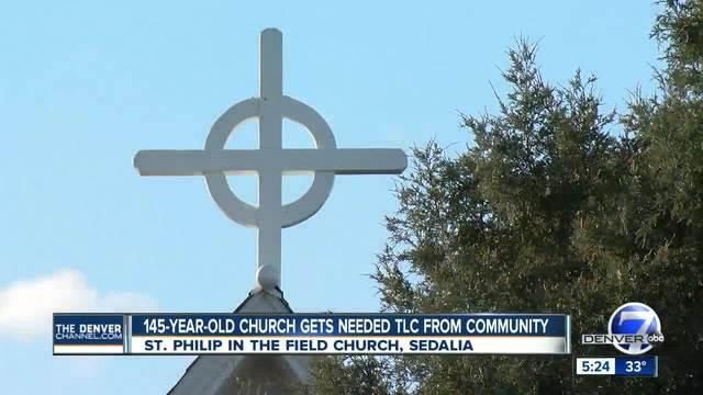 145-year-old Sedalia church gets needed TLC from its parishioners
